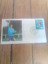 france timbre sport foot 98 Enveloppe  coupe du monde de football 1998 Marseille