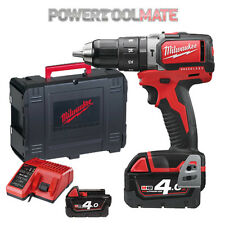 Milwaukee M 18 blpd - 402c 18v Trapano a Percussione Brushless C/W 2 BATTERIE 4.0ah