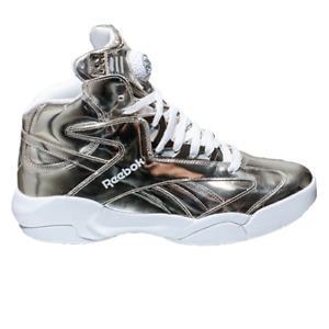 Reebok Shaq Attaq Platinum Men's Luce White Retro Basketball Lifestyle Sneakers