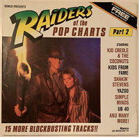 RAIDERS OF THE POP CHARTS LP RONCO 1982 COMPILATION PRO CLEANED EX CONDITION