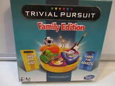 Hasbro Gaming Travel Board game Trivial Pursuit Family Edition ages 8+