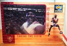 Michael Jordan 1997-98 Diamond Vision Highlight Reels Taking the Fifth 3D Motion