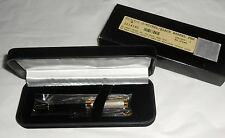 The Bombay Company Black Barrel & Nickel Pen - Never Used In Box - Needs Ink -