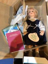 """WPM Waltershausers Lisa Muller 11 Of 500 Blonde German Doll 13"""" COA New"""