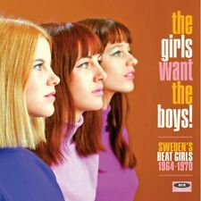 """THE GIRLS WANT THE BOYS! """"SWEDEN'S BEAT GIRLS 1964-1970 CD"""