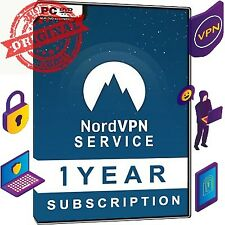 Nord VPN 1 Year REAL ACCOUNT Pro Subscription worth $128 Protect Yourself Online