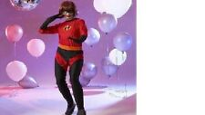 Disney Ladies Adult The Incredibles Mrs Incredible Costume Size Large -Brand new