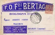 3892) BOLOGNA, F.O. F.LLI BERTAGNI, TORTELLINI, PASTE ALL'UOVO.