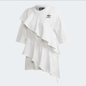 ADIDAS ORIGINALS x J KOO Women T-SHIRT White FT9876