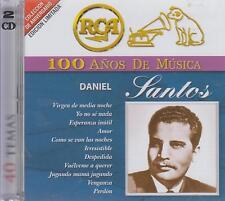 CD - Daniel Santos NEW 100 Anos De Musica 2 CD's 40 Temas FAST SHIPPING !