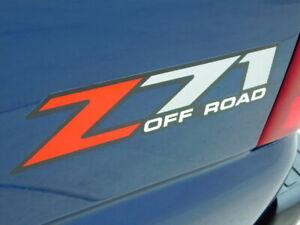 1999-2007 Chevrolet Silverado GMC Sierra Z71 Bed Side Logo Decal Sticker OEM New