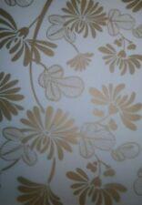 5 X A5 Gold Printed Vellum - Oriental Floral