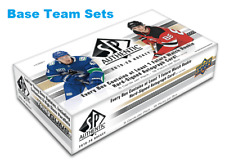2019-20 Upper Deck SP Authentic BASE Team Set You Pick Choose Singles Available