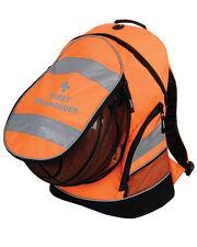 1 x FIRST RESPONDER Hi-Vis Orange Rucksack/Work Bag - Paramedic  Ambulance Medic