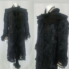 New listing Antique Edwardian Silk & Lace Cloak Artus Paillard & Cie Paris Museum Quality