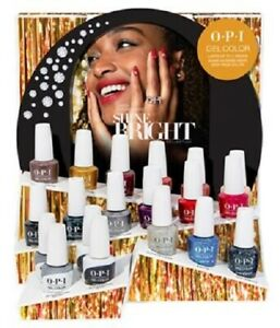 """OPI GELCOLOR  """" NOUVELLE COLLECTION SHINE BRIGHT 2020 """" 15 ML /GEL POLISH"""