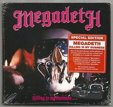 MEGADETH - Killing Is My Business...And Business Is Good! ['09] 85 ORIG. SEALED