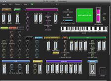 VIRTUAL PG-300 editor / programmer - Juno-1, Juno-2, MKS-50 - LOGIC v4 - X