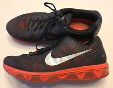 Nike Air Max Tailwind 7 Men's Running Shoes Black Crimson Red Size 13