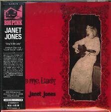 JANET JONES-SING TO ME LADY-JAPAN MINI LP CD Ltd/Ed F83