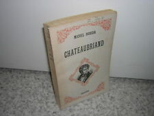 1948.Chateaubriand / Michel Robida.SP + envoi autographe.bon ex.