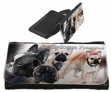 Frauen Geldbörse Brieftasche Französische Bulldogge 1 mix French Bulldog