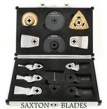 13 Saxton Blades Universal Case Set Fein Multimaster Bosch Makita Multitool