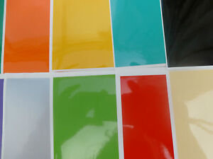 TILE STICKERS EASY FIT TRANSFERS KITCHEN BATHROOM DIY ANY SIZE LOTS OF COLOURS