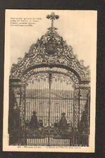 TROYES (10) GRILLE en Fer Forgé de l' HOPITAL en 1937