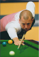 Barry HAWKINS SIGNED Autograph Photo AFTAL COA SNOOKER Player Sheffield Crucible