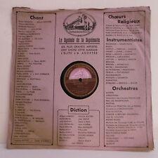 78T ORCHESTRE Disque Phonographe LES PATINEURS - ESTUDIANTINA - GRAMOPHONE 633