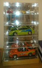 Acrylic mirrored Display Case Diecast Car Models