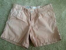 New Look, Pink Chino Shorts, Size UK 10