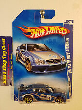 HOT WHEELS 2009 Mercedes AMG CLK DTM Blue Variation Error No Window 152/190 B29
