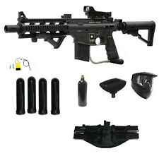 Tippmann US Army Project Salvo Sniper Tactical Paintball Gun M-ADP Prime Package