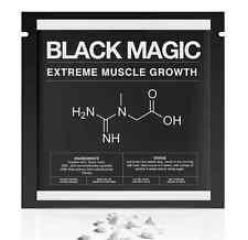 BLACK MAGIC™- CREATINE AKG + ZMA + HMB + AMINO ACIDS -STRONGEST MUSCLE FORMULA!