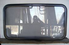 Black Cleer Vision 40 X 22  RV Fixed Window Camper Cabin Cargo Trailer  40X22