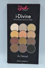 BNIB Sealed Sleek I-Divine Mineral Based eyeshadow palette 12 shades Au Naturel
