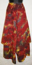 New Fair Trade Cotton Skirt 24 26 28 30 - Hippy Ethnic Ethical Hippie Tie Dye