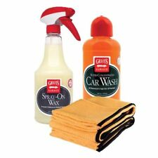 Griot's Garage Quick Car Wash & Spray-On Wax Combo Pack
