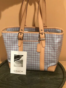 Coach Hampton's Collection Tote Handbag