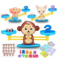 Saldo Matemática número de Matemática Brinquedo Infantil Criança Pré-jogo de balanceamento Escala