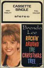 BRENDA LEE - ROCKIN' AROUND THE CHRISTMAS TREE 1958 UK CASSINGLE 1991 RE-RELEASE
