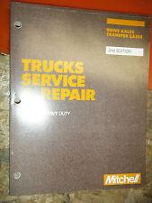 1977-87 MITCHELL DOMESTIC MEDIUM HEAVY TRUCK T-CASE AXLE SERVICE REPAIR MANUAL