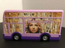 Vintage Britney Spears Music Tour Bus Playhouse Toy + Accessories