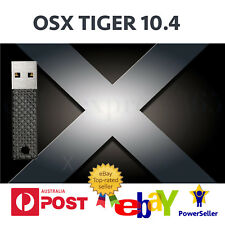 Mac OS X tiger OSX 10.4 USB replaces DVD Recovery MacBook iMac Mini power g