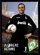 Andreas Reinke Autogrammkarte Werder Bremen 2006-07 1.Karte Original Si+ A 70404