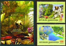 MACEDONIA 2016 EUROPA CEPT THINK GREEN ECOLOGY BLOCK+ Set of 2 stamp MNH