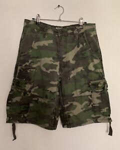 Jordan Craig Utility Camo Cargo Shorts Size 32 Military Army