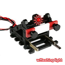 3 Buffer Stops With FLASHING LIGHT! (HO/OO)